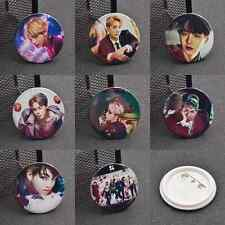 Kpop BTS Wings Badge Pin Bangtan Boys Gift Clothing Decoration JIMIN Rap Monster