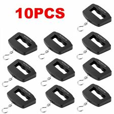 10PCS Portable 50kg/10g Digital LCD Electronic Luggage Hanging Weight Scale KG