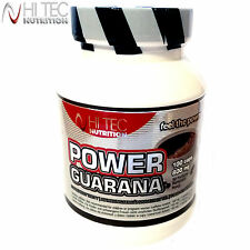 Power Guarana 100/200Caps. Energy Endurance Power Caffeine Pre-Workout Booster