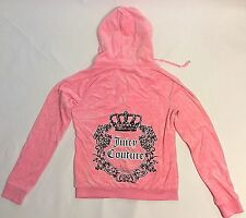 Juicy Couture Girls Juniors Track Hoodie Jacket