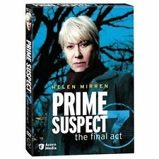 Prime Suspect 7 The Final Act DVD 2-Disc Set NEW factory sealed Helen Mirren