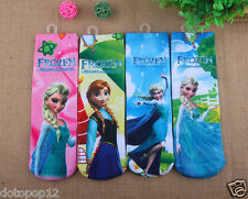 Lot Popular Princess Kids Socks 3 Size Cotton Warm winter Knee-Highs socks C482