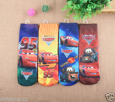 Lot Cartoon Car Story Kids Socks 3 Size Cotton Warm winter Knee-Highs socks C487