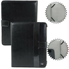 For Apple iPad 1st Gen Black PU Leather Folding Folio Protective Case Cover WLK1
