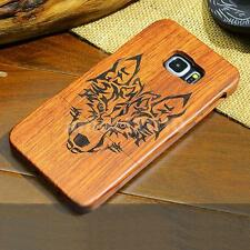 Wolf-Wood Phone Case Cover Fitted Skin for Samsung Galaxy S6/S7 Edge Plus
