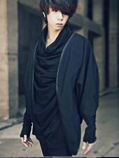 Hot sale!Mens stylish Korean leisure costume cardigan loose casual black shirt