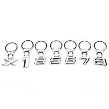 Metal car logo keychain key chain keyring key ring Llavero for BMW 1 3 5 6 7 8B