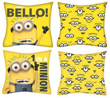 Official Despicable Me 1 in a Minion/Bello Reversible Filled Cushion 35cm x 35cm