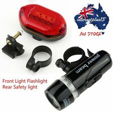 LED Bicycle Bike Cycling Silicone Head Front Rear Wheel Safety Light Lamp E5