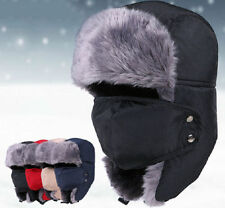 Winter Warmer Ear Cap Cover Trapper Aviator Trooper Earflap Ski Hat With Mask