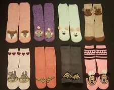 PRIMARK LADIES GIRLS COSY SOCKS CHRISTMAS NOVELTY UK 4-8 EU 37-42 SLIPPER SOCKS