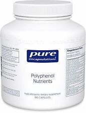 Pure Encapsulations Polyphenol Nutrients 180 vcaps -Multivitamin/Mineral Formula