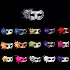 Rose Flower Venetian Mardi Gras Costume Masquerade Halloween Party Carnival Mask