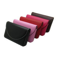 New Pocket PU Leather Business ID Credit Card Holder Case Wallet  LE