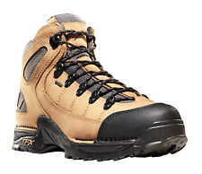 Danner 453 5.5in Mens Tan/Gray Leather Goretex Hiking Boots 45370
