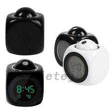 Home Multifunction LCD Voice Talking Projection Alarm Clock Calendar Display