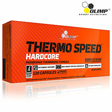 Thermo Speed Hardcore 30-180 Caps. Thermogenic Fat Burner Weight Loss Slimming