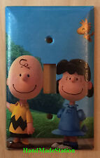 Peanuts Charlie Brown Lucy Woodstock Light Switch Power Outlet Cover Plate Decor