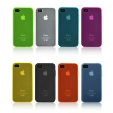 Transparent Soft Skin Back Case Cover Protector For Apple iPhone 4S 4 3G 4G LTE