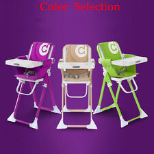 Buy Baby High Chair Tray Toddler Feeding Seat Comfortable Folding Highchair SP92