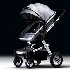 new baby stroller high-view Pram Foldable Anti-shock travel system pushchair