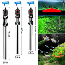 500W Stainless Steel Submersible Water Heater Heating Rod For Fish Tank ^