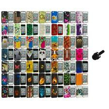 Design Hard Rubberized Color Snap-On Case Cover+Mini Stylus for iPhone 4 4S 4G