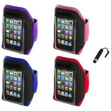 Gym Sports Armband Case Cover+Stylus Plug for iPod Touch 4th 3rd 2nd Gen 4G 3G