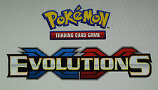 POKEMON XY EVOLUTIONS REVERSE HOLO UNCOMMON & COMMON - CHOOSE YOUR MINT CARDS