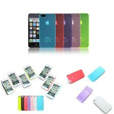 Transparent Hard Skin Back Case Cover Protector For Apple iPhone 5S 5 3G 4G LTE