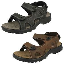 Mens Black/Brown Northwest Territory Leather Sandals UK Sizes 7 - 11 Arabia