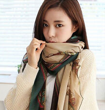 Women Long Soft Cotton Voile Silk Scarves Shawl Stole Wrap Scarf Gifts Beach New