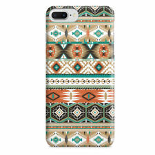 Earthy Aztec Tribal Geometric Slim Fit Phone Case Cover for iPhone Samsung