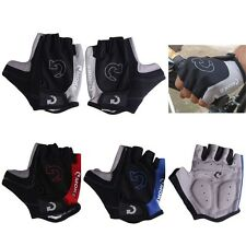 Cycling Gloves Bicycle Motorcycle Sport Gel Half Finger Gloves SXL Size Fast US