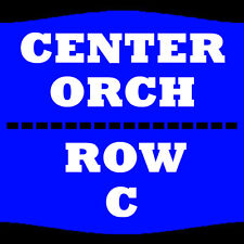 1-4 TIX LEWIS BLACK 2/2 ORCH CENTER ROW C COLLINS CENTER FOR THE ARTS ORONO