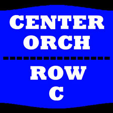 2 TIX LEWIS BLACK 2/2 ORCH CENTER ROW C COLLINS CENTER FOR THE ARTS ORONO