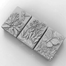 Soap Mold Silicone Craft Flower Soap Making Mould Candle Resin DIY Handmade Mold