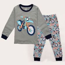 Pajamas  Motorcycle Kids  NEW  Boys Dirt Bike Pyjamas  PJS
