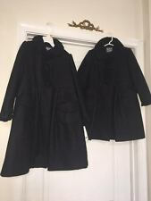 Vintage Rothschild Girls Gray Coat and Hat Size 4 and 6x