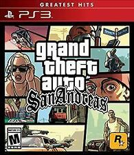 NEW Grand Theft Auto San Andreas PlayStation 3 Greatest Hits PS3 Video Game Gift