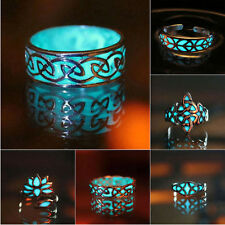Fashion Charms Lady Rings Glow in the Dark For Women Luminous Ring Gift Jewelry