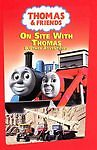Thomas  Friends On Site With Thomas Kids DVD New