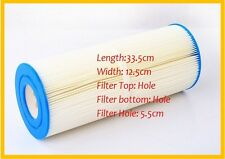 hot tub spa pool filter size 33.5cm  x 12.5cm Pleated or meltblown available