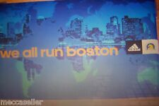BOSTON MARATHON - 2014 - POSTER - WE ALL RUN BOSTON- 118 th. run -NEW - unused