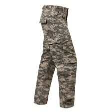 ACU DIGITAL Camo Cargo Pants BDU Military Paintball US Army Hunting Police SWAT