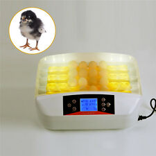 Digital Automatic 32 Eggs Incubator Hatch Hatcher for Chicken Duck Goose Poultry