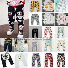 Kids Toddler Baby Boys Girls Casual Long Pants Trousers Leggings Sweatpants P'js