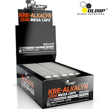 Kre-Alkalyn 30-180 Caps. pH-Correct Creatine Buffered Monohydrate Muscle Growth