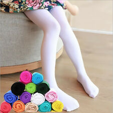 1Pcs Opaque Kids Dance Hosiery Tights Pantyhose Candy Girls Ballet Stockings