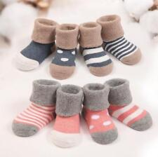 4 Pairs Cute Lovely Baby Newborn Infant Toddler Girls Soft Cotton Socks Leg Warm